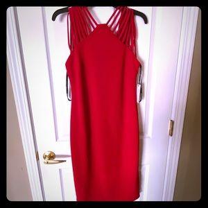 Bisou bisou Red cocktail dress